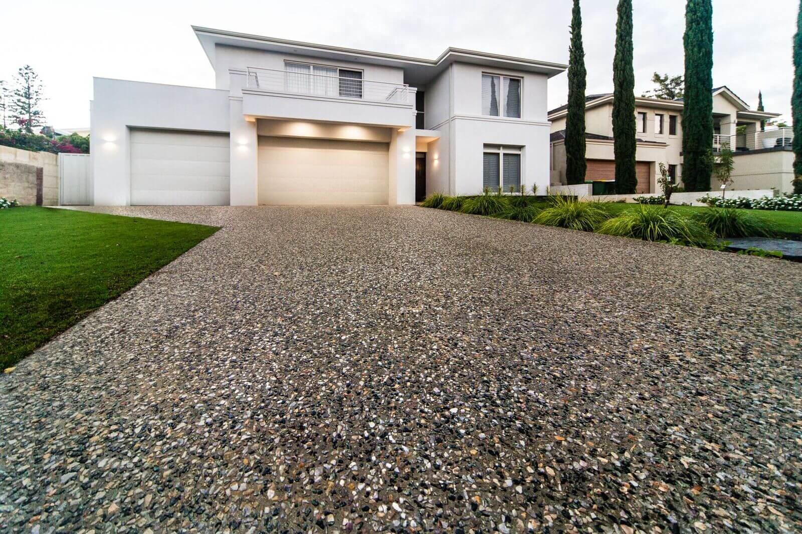 Exposed Aggregate Concrete - Perth Exposed Aggregate
